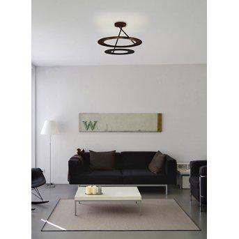 Bopp Leuchten STELLA Deckenleuchte LED Schwarz, 9-flammig