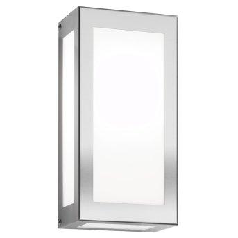 CMD AQUA RAIN Außenwandleuchte LED Edelstahl, 1-flammig, Bewegungsmelder