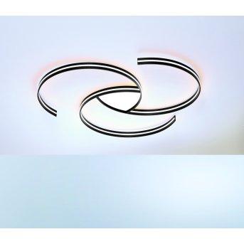 Escale CIRCLES Deckenleuchte LED Schwarz, Weiß, 1-flammig