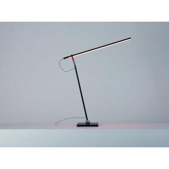 Escale SLIMLINE Tischleuchte LED Schwarz, 1-flammig
