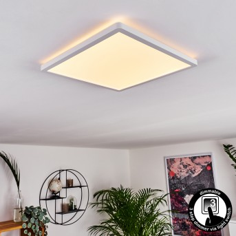 Boyero LED Panel Weiß, 1-flammig