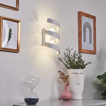 Rezat Wandleuchte LED Weiß, 3-flammig