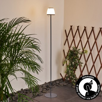 Abuya Außenstehleuchte LED Anthrazit, 1-flammig