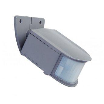 Lutec SUN CONNEC GYQ25 Bewegungssensor LED Grau, Bewegungsmelder