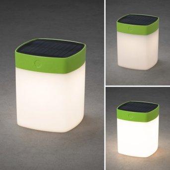 Konstsmide Assisi Solarleuchte LED Grün, 1-flammig
