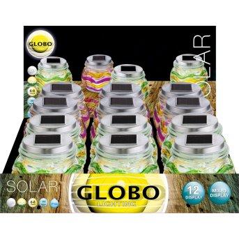 Globo MOSAIK 12er Set Solarleuchte LED, 1-flammig