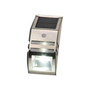 Globo LOGAN Solarleuchte LED Schwarz, 2-flammig, Bewegungsmelder