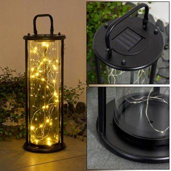Aracaju Solarleuchte LED Schwarz, 1-flammig