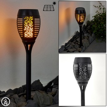 Joinville Solar-Wegeleuchte LED Schwarz, 1-flammig