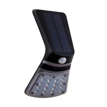 Eglo Leuchten LAMOZZO  Solar-Außenwandleuchte LED Schwarz, 1-flammig, Bewegungsmelder