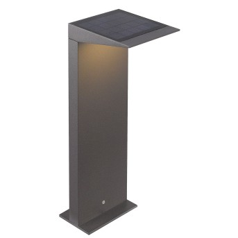 CMD AQUA SOLAR Wegeleuchte LED Anthrazit, 1-flammig, Bewegungsmelder
