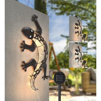 Globo  Solarleuchte LED Bronze, 25-flammig
