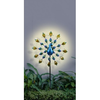 Globo  Solarleuchte LED Schwarz, 100-flammig