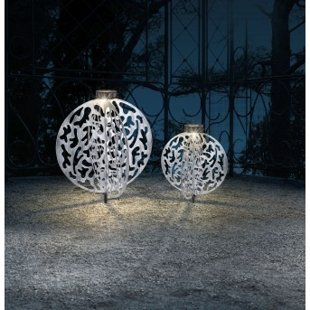 Globo  Solarleuchte LED Silber, 1-flammig