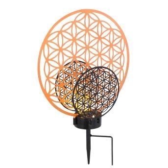 Globo  Solarleuchte LED Schwarz, 2-flammig