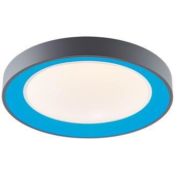 Brillliant Katia Deckenleuchte LED Grau, 1-flammig, Fernbedienung