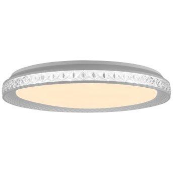 Brillliant Bunin Deckenleuchte LED Weiß, 1-flammig, Fernbedienung