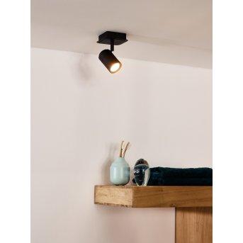 Lucide LENNERT Deckenspot LED Schwarz, 1-flammig