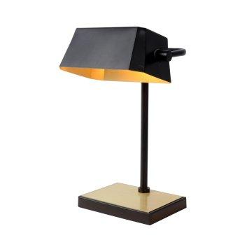 Lucide LANCE Schreibtischlampe Schwarz, 1-flammig
