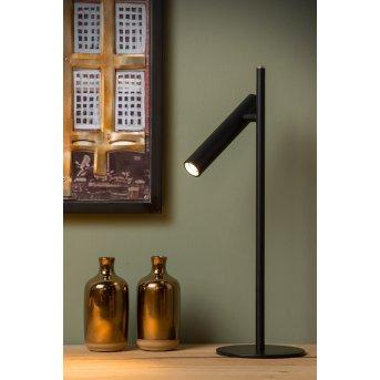Lucide PHILON Tischlampe LED Schwarz, 1-flammig