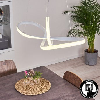 Pitasch Hängeleuchte LED Weiß, 1-flammig