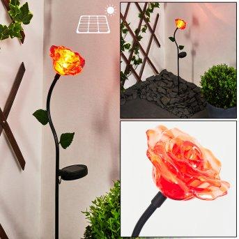 Kerembai Solarleuchte LED Schwarz, 1-flammig