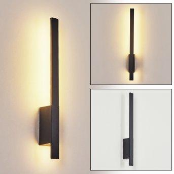 Tydinge Außenwandleuchte LED Schwarz, 1-flammig