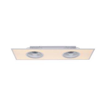 Leuchten Direkt FLAR-AIR Deckenventilator LED Weiß, 1-flammig, Fernbedienung