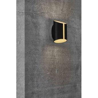 Nordlux SMARTLIGHT Außenwandleuchte LED Schwarz, 2-flammig