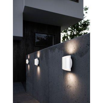 Nordlux SMARTLIGHT Außenwandleuchte LED Weiß, 2-flammig