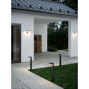 Nordlux RICA Solar-Wandleuchte LED Schwarz, 1-flammig