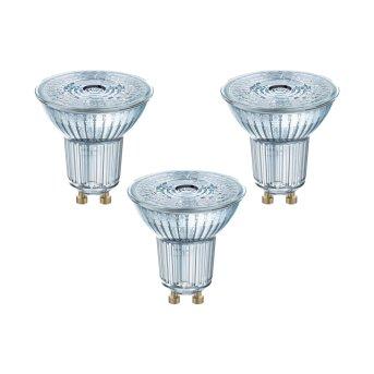 Osram 3er Set LED GU10 4,3 Watt 2700 Kelvin 350 Lumen