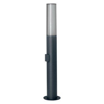 LEDVANCE FLARE Aussenwandleuchte Grau, 1-flammig, Farbwechsler