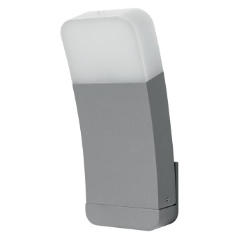 LEDVANCE CURVE Aussenwandleuchte Silber, 1-flammig, Farbwechsler