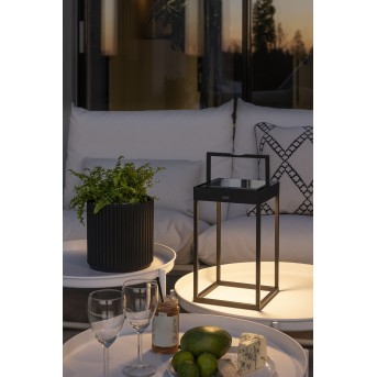Konstsmide Bologna Außentischleuchte LED Schwarz, 1-flammig