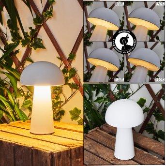 Telve Tischleuchte LED Weiß, 1-flammig