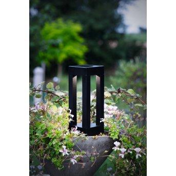 Eglo PUR Solar-Wegeleuchte LED Schwarz, 1-flammig