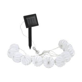 Eglo BALL Solar-Lichterkette LED Weiß, 10-flammig