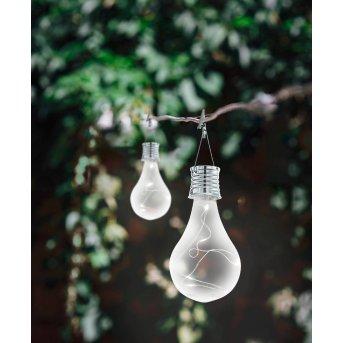 Eglo BULB Solarleuchte LED Silber, 5-flammig