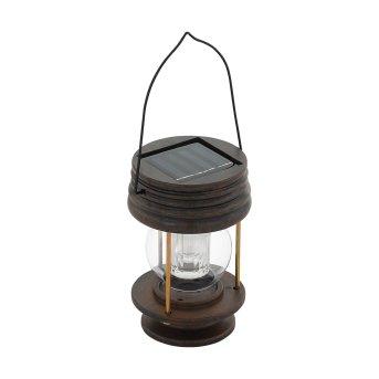 Eglo LATERNE Solarleuchte LED Braun, 1-flammig