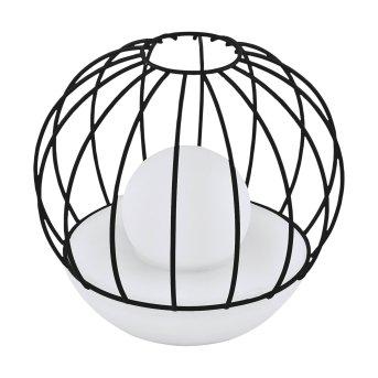 Eglo CIRCLE Solar-Tischleuchte LED Schwarz, 2-flammig