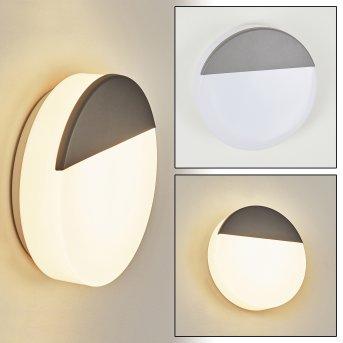 Eppeland Außenwandleuchte LED Anthrazit, 1-flammig