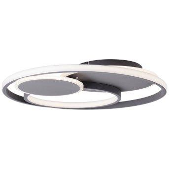Brilliant Runda Deckenleuchte LED Grau, 1-flammig