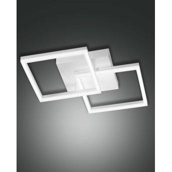 Fabas Luce Bard Wandleuchte LED Weiß, 1-flammig