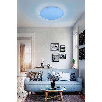 Reality WIZ FARA Deckenleuchte LED Weiß, Glitzereffekt, 1-flammig, Farbwechsler