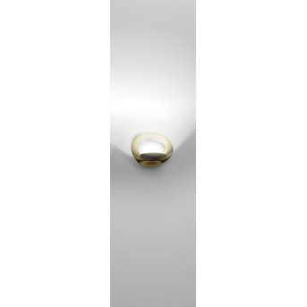 Artemide Pirce Micro Wandleuchte LED Gold, 1-flammig