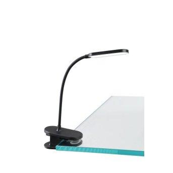 Eglo Leuchten RAIZAL Klemmleuchte LED Schwarz, 1-flammig