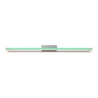 Paul Neuhaus HELIX Deckenleuchte LED Aluminium, 2-flammig, Fernbedienung