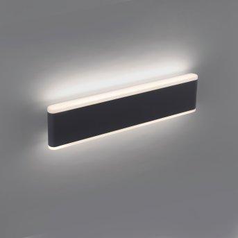 Paul Neuhaus ELSA Außenwandleuchte LED Anthrazit, 2-flammig