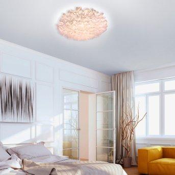 Leuchten Direkt LOLAsmart-NAOMI Deckenleuchte LED Weiß, 1-flammig, Fernbedienung, Farbwechsler